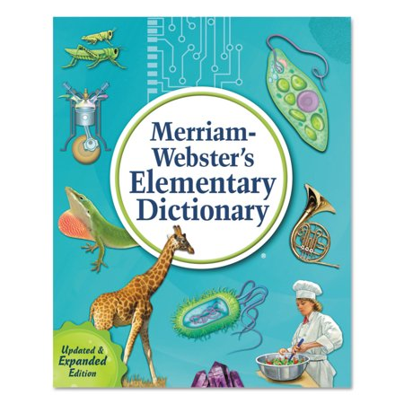 Merriam Webster Elementary Dictionary  Grades 3 5  Hardcover  624 Pages
