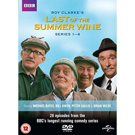 Last of the Summer Wine (Series 1-4) - 7-DVD Box Set ( Last of the Summer Wine - Series One, Two, Three & Four (28 Episodes) ) [ NON-USA FORMAT, PAL, Reg.2 Import - United Kingdom