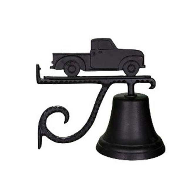 Montague Metal Products CB-1-16-SB Cast Bell With Satin Black Classic Truck Ornament