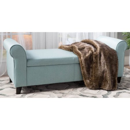 Remarkable Storage Bench In Light Blue Pdpeps Interior Chair Design Pdpepsorg