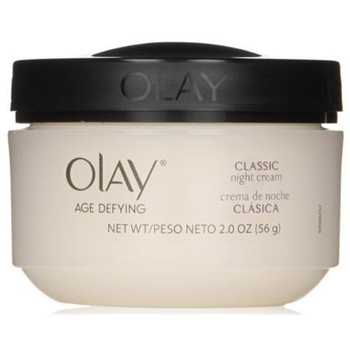 OLAY Age Defying Intensive Nourishing Classic Night Cream 2 oz (Pack of 3)