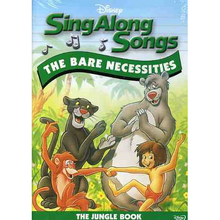 Sing Along Songs: The Bare Necessities - The Jungle Book (DVD)