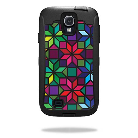 Skin For OtterBox Defender Samsung Galaxy S4 Case – Stained Glass Window   MightySkins Protective, Durable, and Unique Vinyl Decal wrap cover   Easy To Apply, Remove   Made in the USA Unique Stained Glass