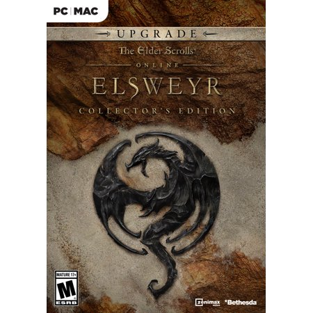 The Elder Scrolls Online: Elsweyr Collector's Edition Upgrade (Pre-order), Bethesda, PC, [Digital Download], (The Elder Scrolls V Skyrim Pc Review)