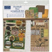 "Karen Foster Scrapbook Page Kit 12""X12""-Football Star"