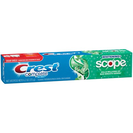 Crest Complete Whitening + Scope Toothpaste, 6.2 Oz
