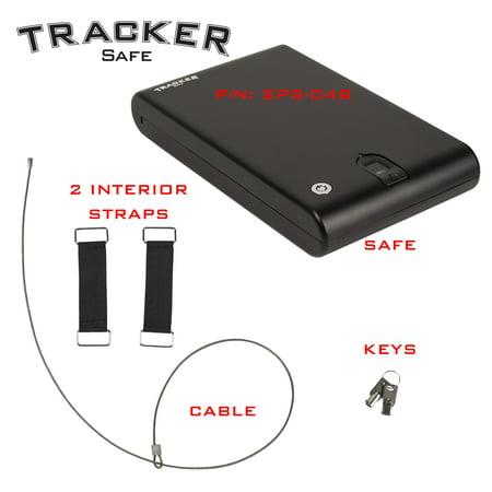 Small Portable Safe - Biometric Lock - 12.6