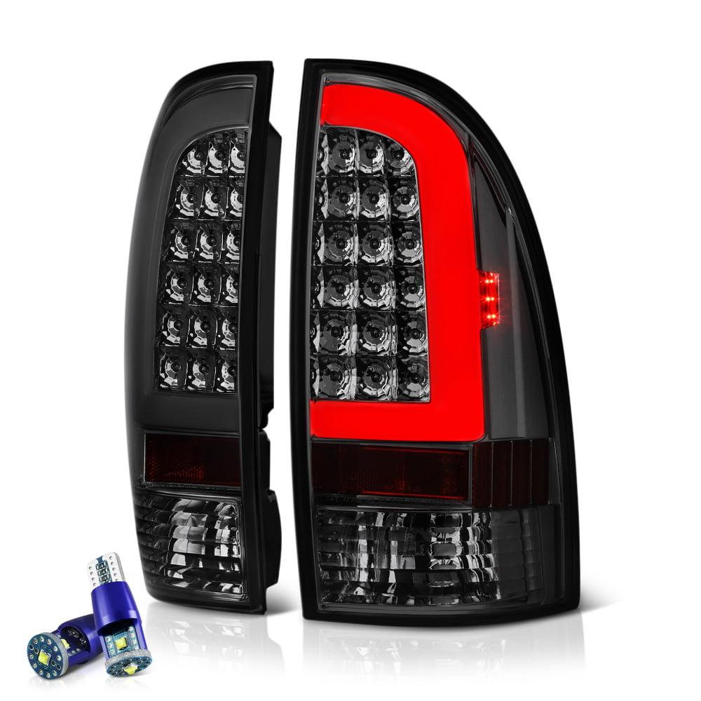VIPMOTOZ Neon Tube LED Tail Light Lamp Assembly For 2005-2015 Toyota Tacoma