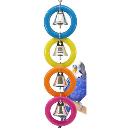 Bonka Bird Toys 945 4 Ring A Ding Bird Toy.