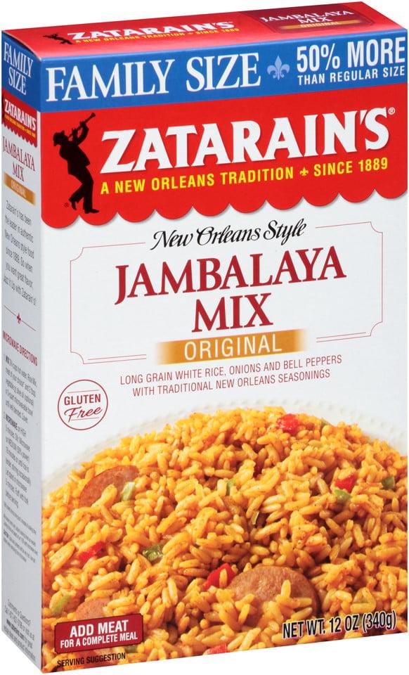 Zatarain's Jambalaya Family Size, 12 Oz by Mccormick