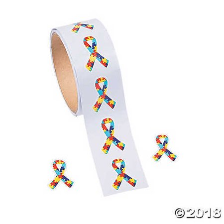 Autism Awareness Puzzle Stickers - Autism Stickers