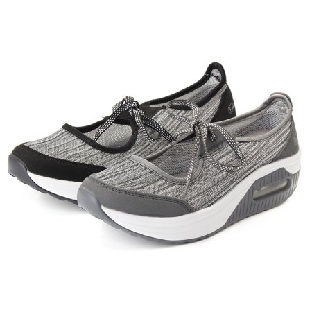 Meigar Women's Sports Outdoor Breathable Casual Athletic Non-slip Air Cushion Sneakers Running