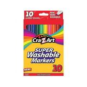 Cra-Z-Art, CZA1016148, Super Washable Finetip Markers, 10 Per Box