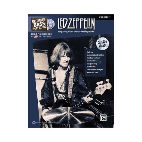 Alfred Ultimate Bass Play-Along: Led Zeppelin, Volume 1 (Book and 2CDS)