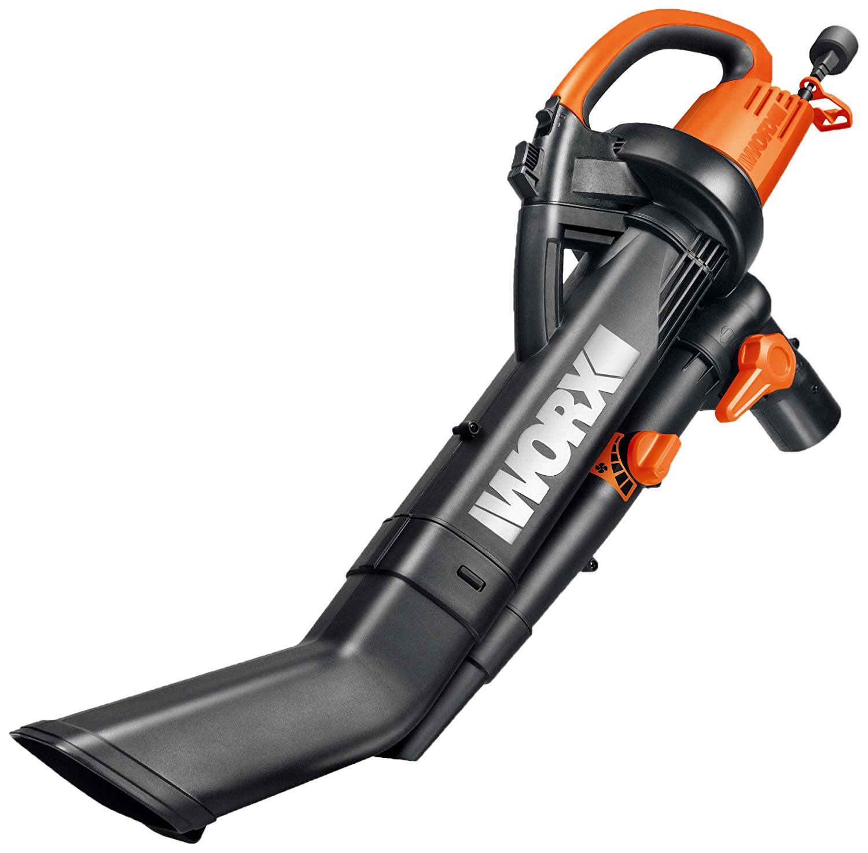 Worx Wg505 Trivac 3 In 1 Blower Mulcher Yard Vacuum Walmart