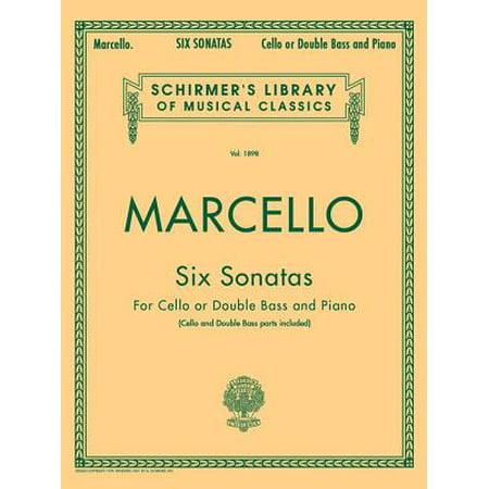 Six Sonatas : Schirmer Library of Classics Volume 1898 Score and