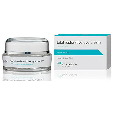 Best Eye Cream for Dark Circles Under Eyes, Puffy Eyes, Fine Lines, Crows Feet, Wrinkles, Natural Extract and Peptide Complex Formula 1% Glycolic (Best Primer For Fine Lines Under Eyes)
