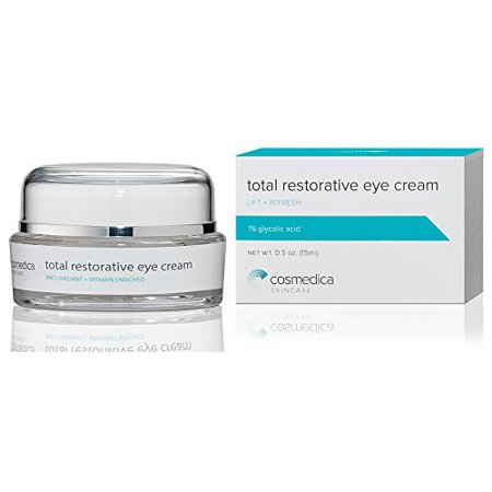 Best Eye Cream for Dark Circles Under Eyes, Puffy Eyes, Fine Lines, Crows Feet, Wrinkles, Natural Extract and Peptide Complex Formula 1% Glycolic (Best Peel For Under Eye Wrinkles)