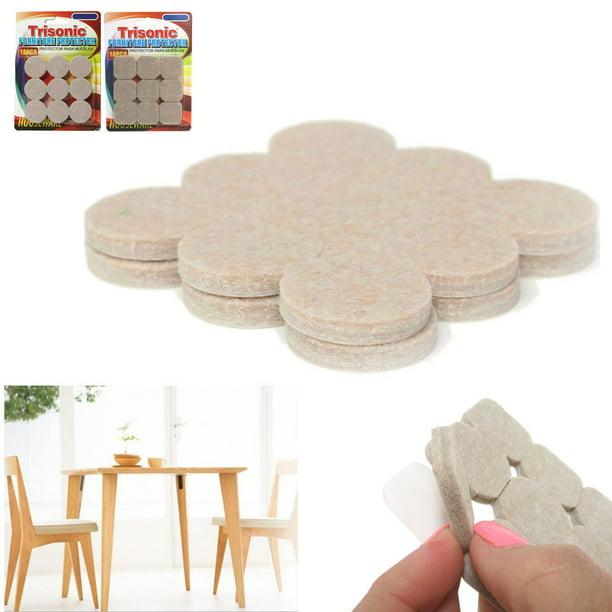 18 Self Adhesive Felt Floor Protectors, Floor Protectors For Furniture