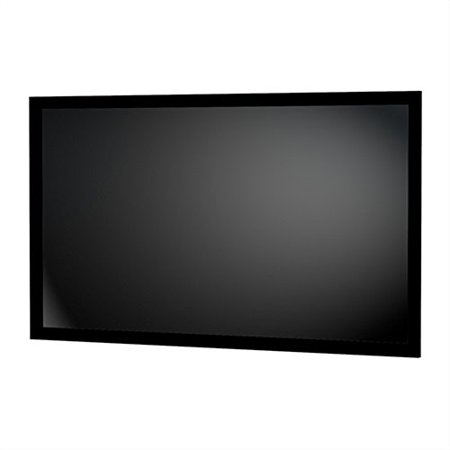 Da-Lite Parallax 0.8 Fixed Frame Projector Screen 28855V 125 inch Diagonal (49x115) [2.35:1] 0.8 Gain by Da-Lite