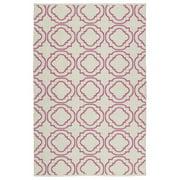 Kaleen Brisa Cream/Pink Indoor/Outdoor Area Rug