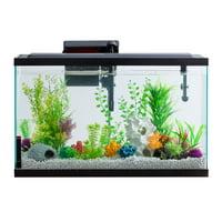 Aqua Culture Aquarium Starter Kit With LED, 29-Gallon