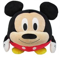 Deals on Disney Mickey Mouse Round Cuddle Pal Stuffed Animal Plush Toy