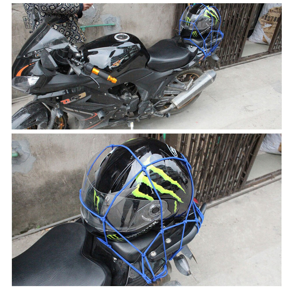 Accessories Bicycle Cargo Net Bungee 30*30cm Luggage Package Practical