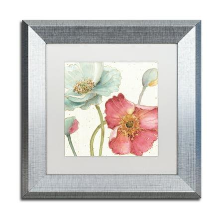 Trademark Fine Art 'Spring Softies II' Matted Framed Art by Lisa Audit