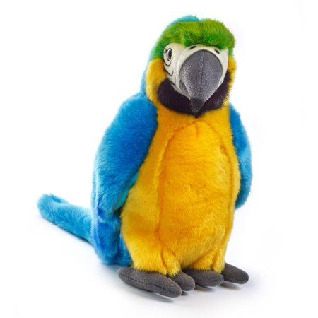 Lelly National Geographic Plush  Yellow Tropical Parrot