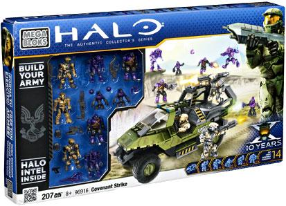 Halo Covenant Strike Set Mega Bloks 96916 by Mega Brands
