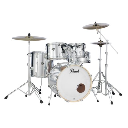Pearl Export Series 5-Piece Drum Set w/ 830 Series Hardware - Mirror Chrome (Pearl Export Series)