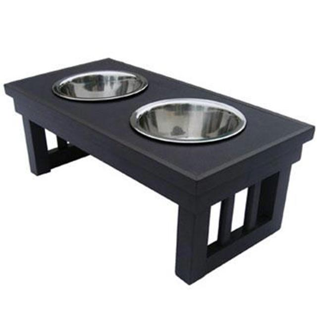 New Age Pet EHHF202S Dog Bowl Double Raised Sml Esp