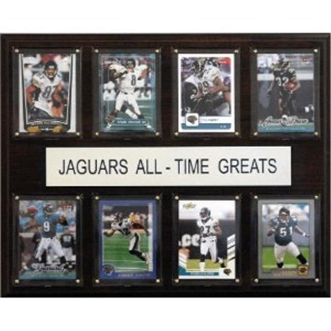 C & I Collectables 1215ATGJAGS NFL Jacksonville Jaguars All-Time Greats Plaque