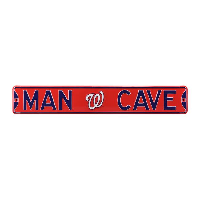 Authentic Street Signs 30221 Washington Nationals Man Cave Street Sign - image 1 of 1