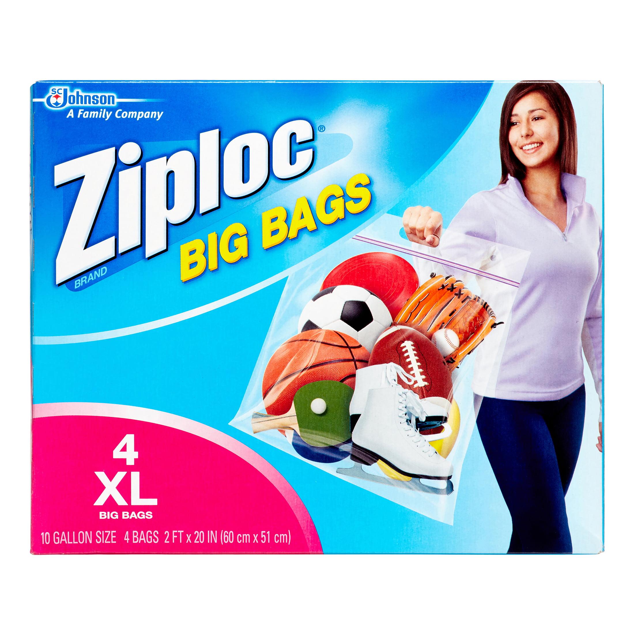 Ziploc Heavy Duty XL Big Bags, 4 ct