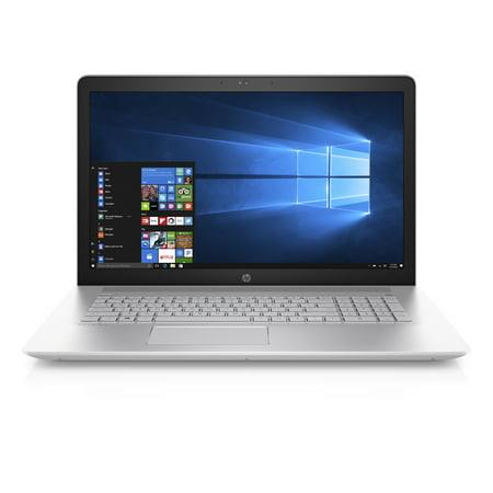 "Certified Refurbished HP 17-ar050wm, 17.3"" Laptop, Windows 10 Home, AMD A10-9620P QC, 8GB RAM, 1TB HDD"