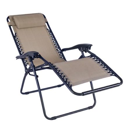 Adeco Outdoor Folding And Reclining Armrest Chair