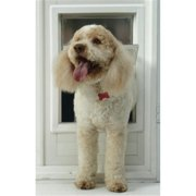 Ideal Pet Products MFM Medium Multi-Flex Dog Door - White Finish