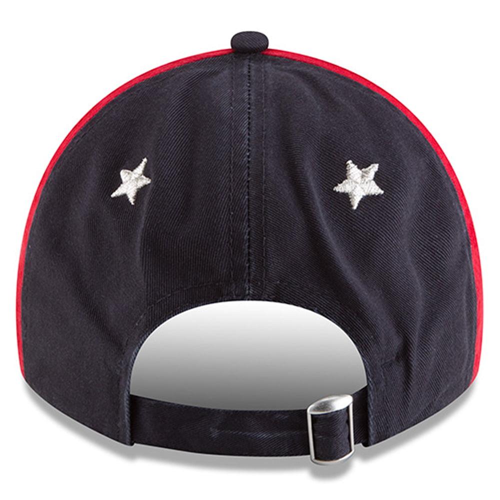 huge selection of 11079 aa656 Cleveland Indians New Era 2018 MLB All-Star Game 9TWENTY Adjustable Hat -  White Navy - OSFA - Walmart.com