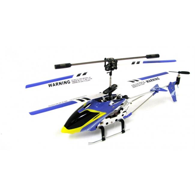 Groovy G100037-FV USB My Web RC- Micro IR Metal Iron Eagle Helicopter- Green, Purple