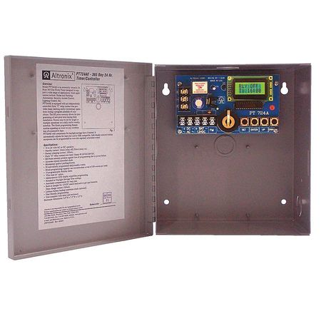Altronix PT724AE Timer- Annual Event 1Ch 365 Day/24 Hr.