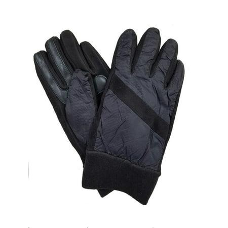 Isotoner Smartdri Super Soft Nylon Fleece Pieced Glove - -