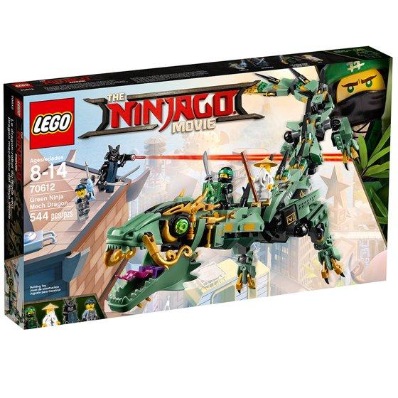 Lego Ninjago Green Ninja Mech Dragon 70612 Walmart