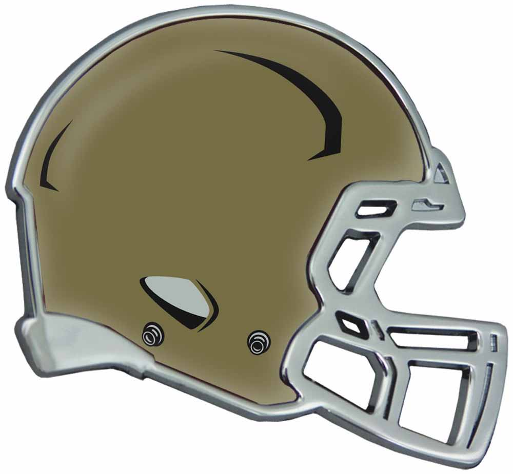 Notre Dame Fighting Irish Auto Emblem - Helmet