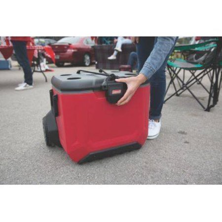 Coleman 55 Qt Rugged A T Wheeled Cooler Best All Coolers