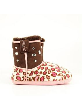 b88d57dbb61c Product Image Blazin Roxx 5712602-S Ladies Leopard   Crystal Boot Slipper