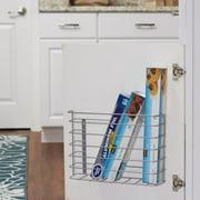 Household Essentials Cabinet Door Under Sink Organizer Rack