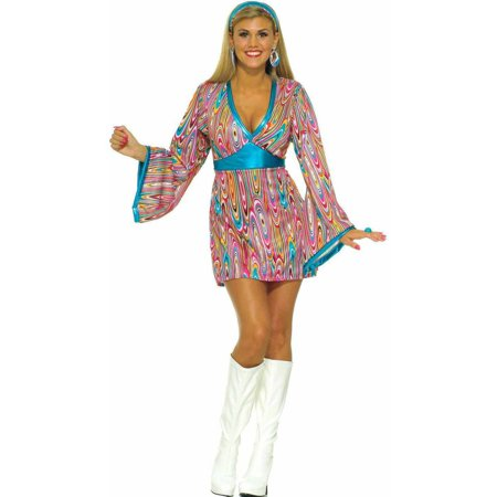 Wild Swirl Dress Women's Adult Halloween Costume