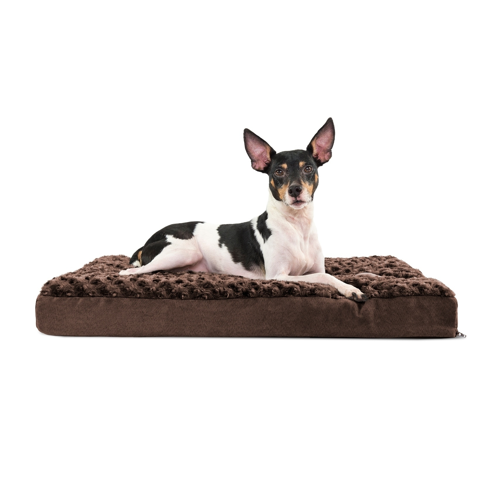Furhaven Pet Bed Ultra Plush Deluxe Memory Foam Mattress